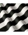 Ткань в широкую полосу, черная
