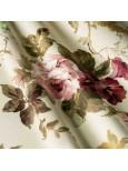 Портьеные ткани цветы крупные