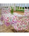 Декоративная ткань, птички розовые
