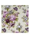 Ткань сиренево-фиолетовые цветы
