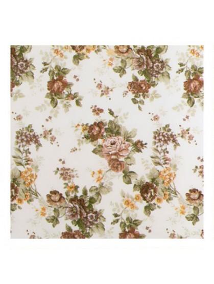 Портьерная ткань, бежевые розы