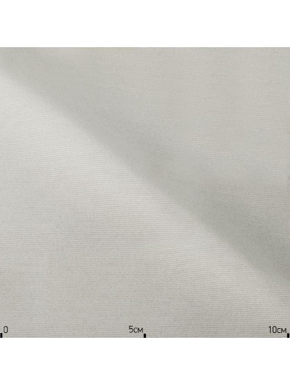 Однотонная ткань белого цвета