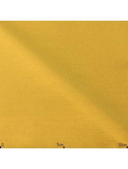 Однотонная ткань желтого цвета