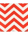 Ткань с принтом шеврон, красная