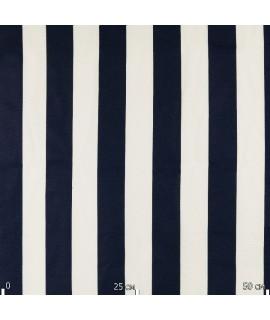 Ткань в полосу, синяя