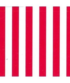 Ткань в полосу, красная