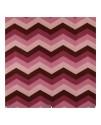 Декоративная ткань с рисунком шеврон бордо