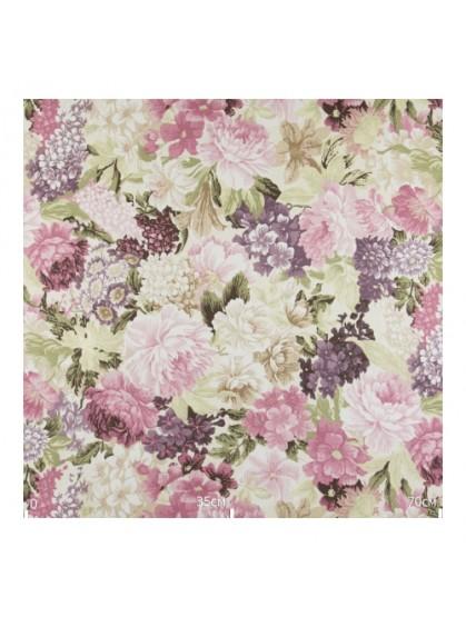 Сиренево-розовые цветы