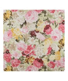 Ткань для скатерти цветочная