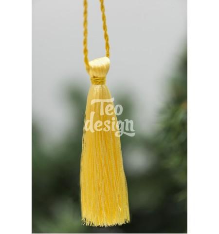 Декоративная кисточка, желтая