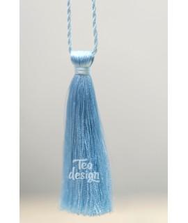 Декоративная кисточка, голубая