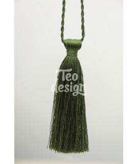 Декоративная кисточка, зеленая