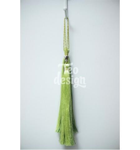 Декоративные кисточки зеленые