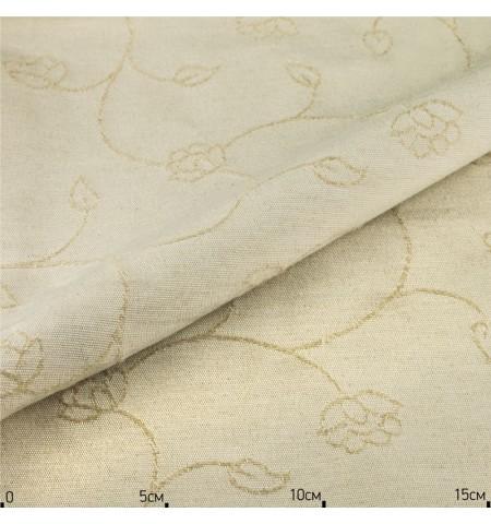 Ткань скатертная лен