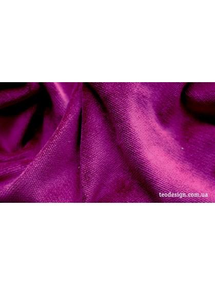 Велюр мебельный лиловых цветов