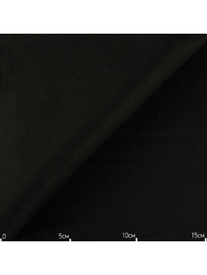 Однотонная декоративная ткань черная, Турция