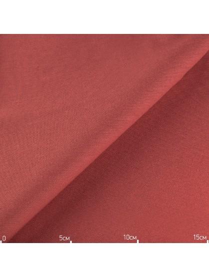 Однотонная декоративная ткань терракотовая, Турция