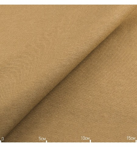 Однотонная декоративная ткань светло коричневая, Турция