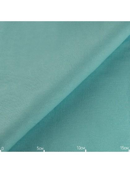 Однотонная декоративная ткань лазурная, Турция