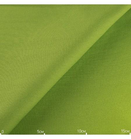 Однотонная декоративная ткань зеленая яркая, Турция