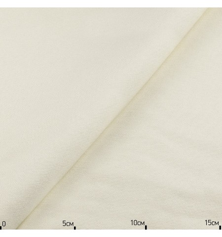 Однотонная декоративная ткань молочная, Турция