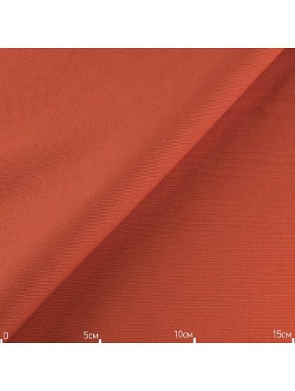 Однотонная декоративная ткань красный апельсин, Турция
