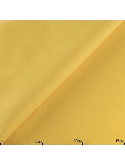 Однотонная декоративная ткань желтая, Турция