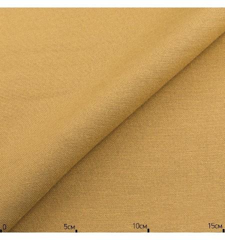 Однотонная декоративная ткань светло-горчичный, Турция