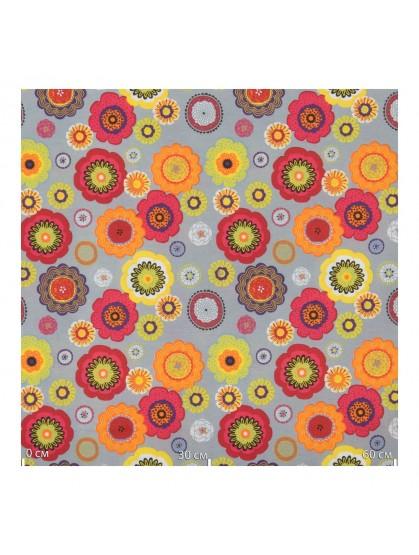 Портьерная ткань, цветы Испания