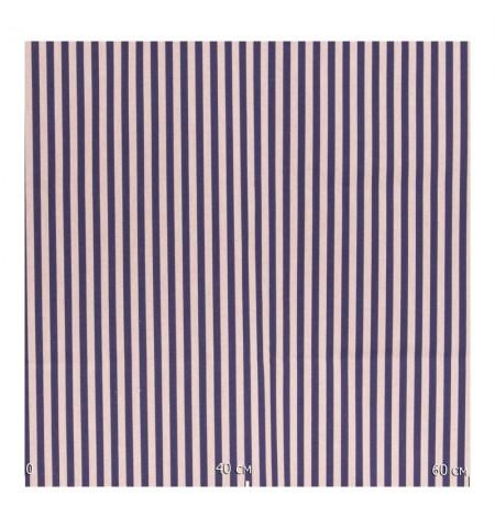 Портьерная ткань , тонкая полоса синяя