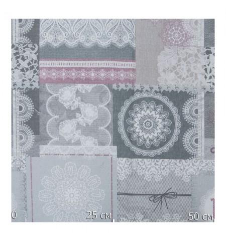 Ткань декоративная кружево