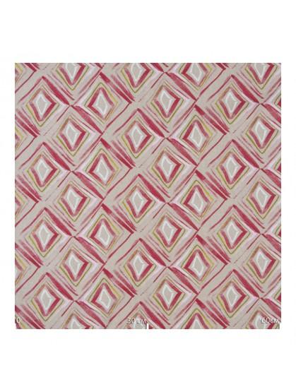 Ткань декоративная геометрия