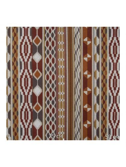 Ткань декоративная геометрический орнамент