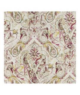 Ткань декоративная узоры бежевая гамма