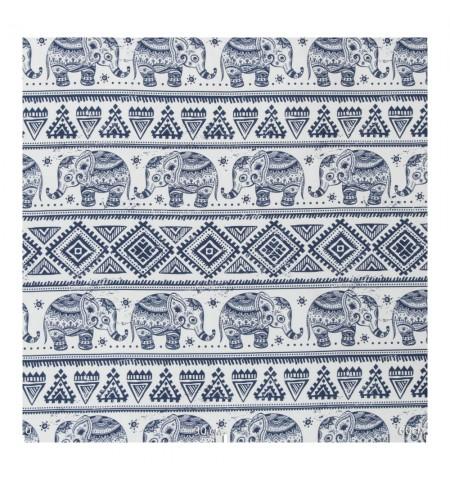 Ткань декоративная слоны