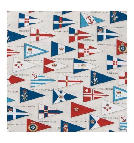 Ткань декоративная  флаги