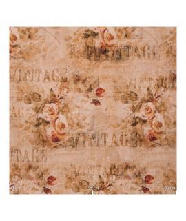 Ткань цветы и надписи