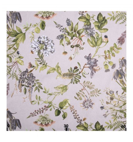 Декоративная ткань волшебный сад зеленый