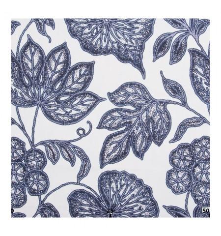 Декоративная ткань флора