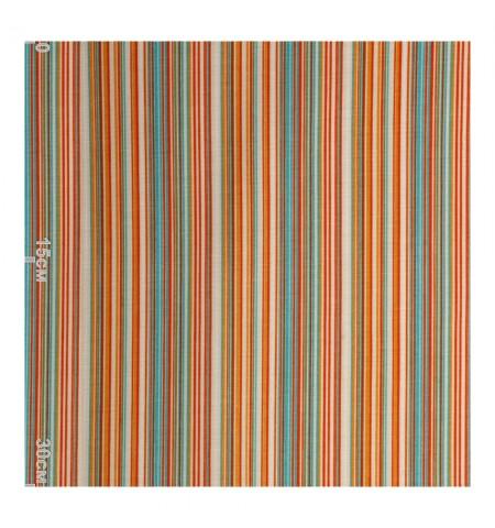 Ткань в полосу, оранжевая