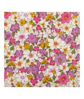 Цветочный рисунок, розово-сиреневый