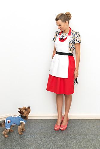 фартук-платье Алиса