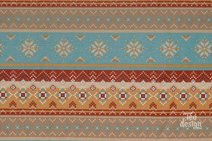 Ткань с геометрическим принтом