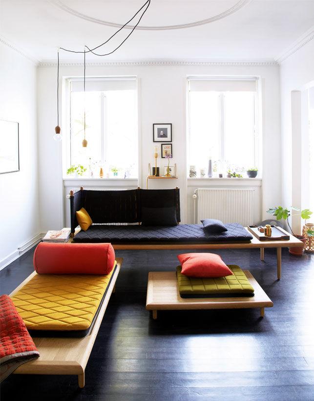 цветовые акценты в комнате