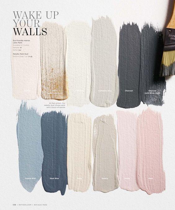 пастельные цвета в интерьере